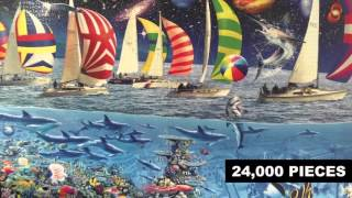 Epic Jigsaw Puzzles - 12,000 13,200 24,000 & 33,600 pieces