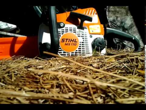 stihl ms 170 warten doovi. Black Bedroom Furniture Sets. Home Design Ideas