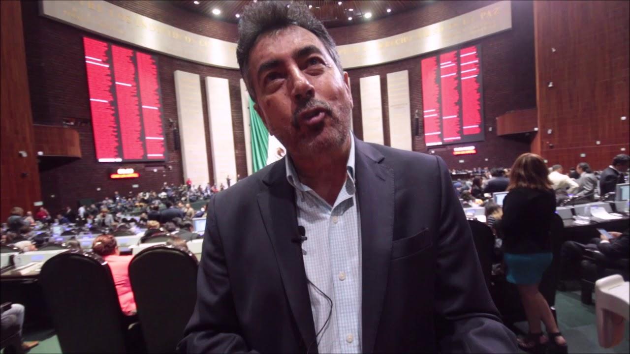 En entrevista Javier Lamarque Cano diputado federal de Morena en Sonora -  YouTube