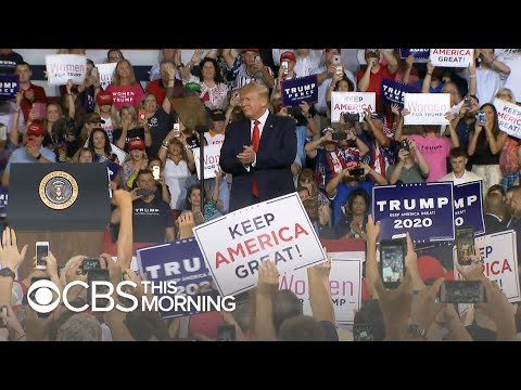"""Trump rally highlights """"most visible dividing line"""" in American politics"""