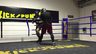 Giacobbe Fragomeni Daniele Scardina palestra Kick And punch