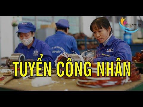 Việc làm LƯƠNG CAO – Tuyển GẤP 100 CÔNG NHÂN sản xuất và 10 nữ QC kiểm hàng Khu Chế Xuất Linh Trung