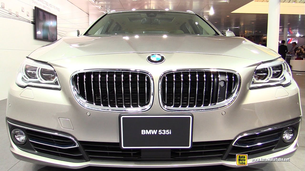 2016 bmw 535i touring luxury exterior and interior walkaround 2015 tokyo motor show youtube. Black Bedroom Furniture Sets. Home Design Ideas