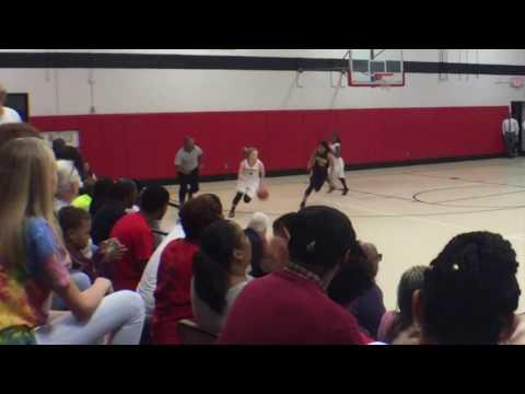 Olivia Eller Basketball - The Burlington School vs Northwood Temple Academy
