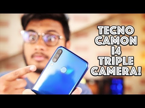 Tecno Camon i4 First Look & Hand's On