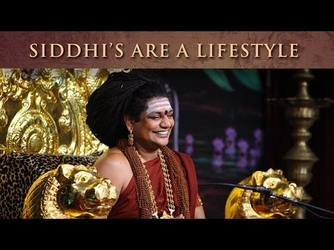 Siddhis (Spiritual Powers) are a Lifestyle for us