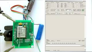 GSM модуль M590  Урок 1.