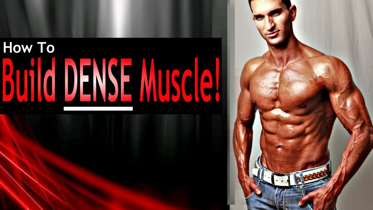 How To Build Muscle DENSITY (Advanced Muscle Building
