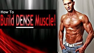 How To Build Muscle DENSITY (Advanced Muscle Building Workout Routine)