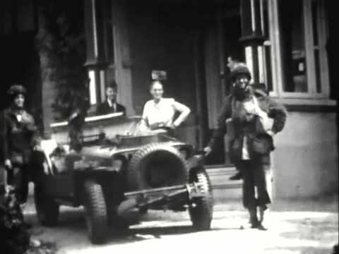 Home movie, made by dentist Clous (Lebretweg 1 Oosterbeek), 18 September 1944 and onwards