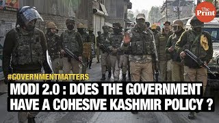 Modi 2.0: Does the government have a cohesive Kashmir policy?