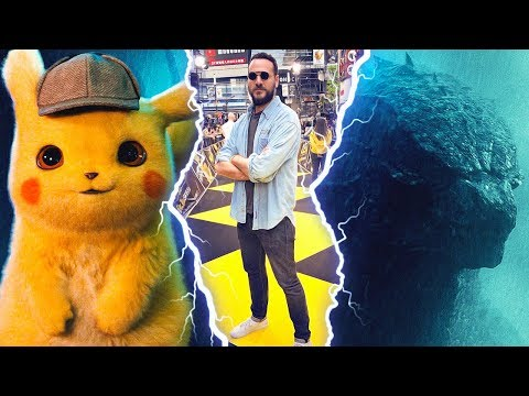 A Tokyo pour voir Detective Pikachu et Godzilla !