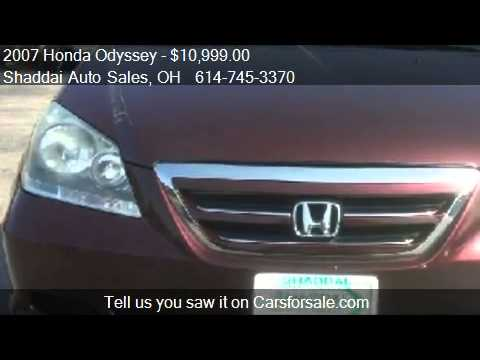 2007 Honda Odyssey EX-L  for sale in Whitehall, OH 43213 at