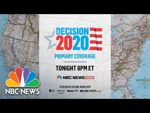 Watch Live Primary Night Coverage From NBC News NOW | NBC News (Live Stream Recording)