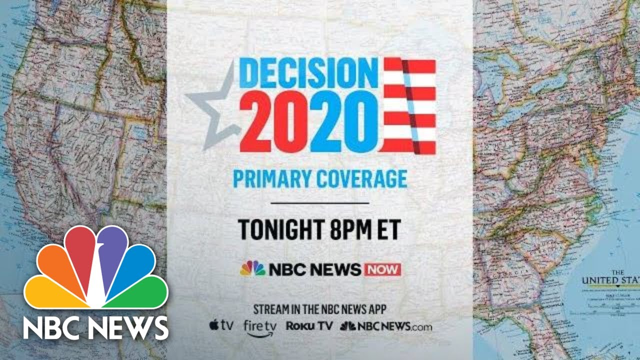 Watch Live Primary Night Coverage From Nbc News Now Nbc