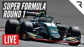 SUPER FORMULA 2020 - Rd.1, Motegi - Full Race, LIVE With English Commentary