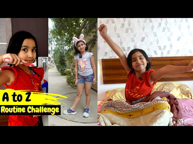 A to Z ROUTINE Challenge | #LearnWithPari