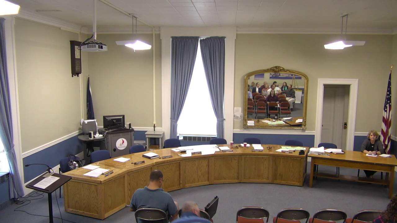 City of Plattsburgh, NY Meeting  9-22-16