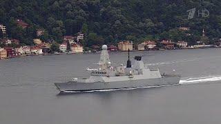 В МИД и Минобороны России прокомментировали инцидент с британским эсминцем у берегов Крыма.