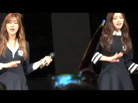 20140924 Woosung University Apink Fancam Like a dream