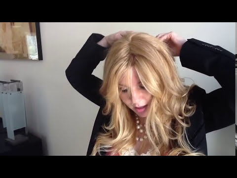 How To Clip in Human Hair Extensions Topper | Hair pieces ...