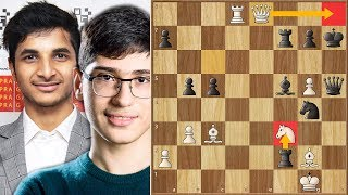How Many Tactics Can You Squeeze in One Game?? || Vidit vs Firouzja || Prague Chess Festival (2020)