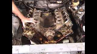 How to degree the cams on the Ford 4.6L 2V SOHC.
