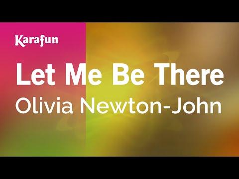 Karaoke Let Me Be There - Olivia Newton-John *