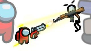 Mini Crewmate Kills Pets In Among Us Animation