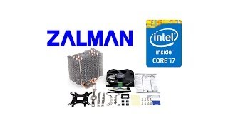 инструкция по установке Zalman CNPS10X Performa\Optima на LGA1155\1150\1151