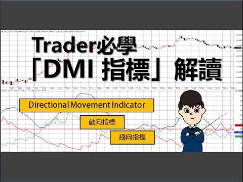 [投資教學]Trader必學:五分鐘學懂解讀「DMI指標」_課堂四十三