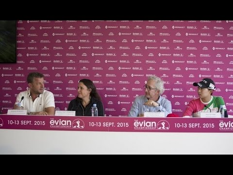 Opening Press conference - EvianChamp 2015