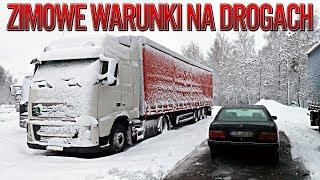 Zimowe warunki drogowe   KrychuTIR™