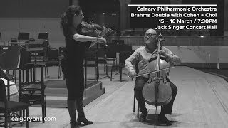 CPO / Brahms Double with Cohen + Choi preview