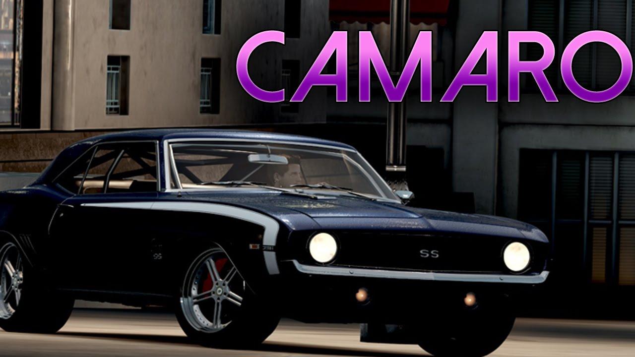 Forza horizon 2 build it drift it kill it chevrolet camaro ss 396 drift build tune youtube
