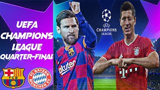 Please subscribe for more predictions this week's prediction features the uefa champions league quarter-finals match between barcelona and bayern munich plea...