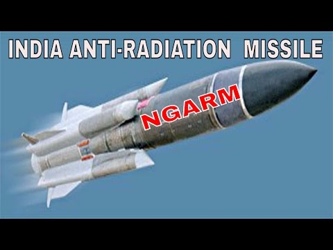 drdo developing anti radiation missile