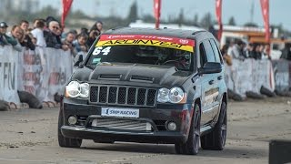Jeep SRT-8 — 1/4 mile in 9 sec.