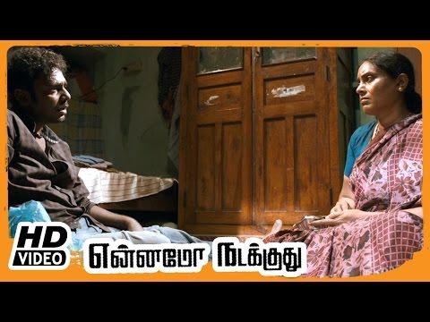 Yennamo Nadakkudhu Tamil Movie | Scenes | Vijay Vasanth Convinces Saranya | Thambi Ramaiah