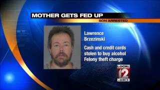 Man Arrested For Stealing From His Blind Mother