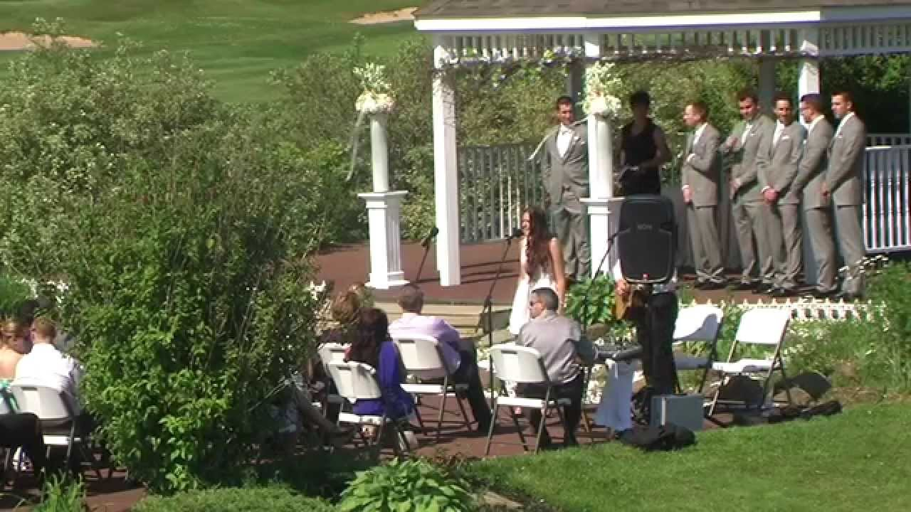 Alex And Jill's Beautiful Outdoor Wedding Ceremony