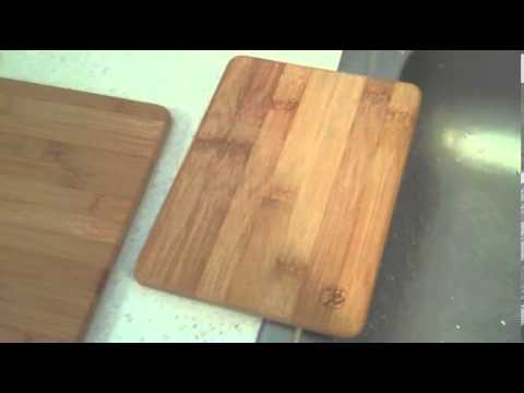 Totally Bamboo 3 Piece Cutting Board Set Review Youtube