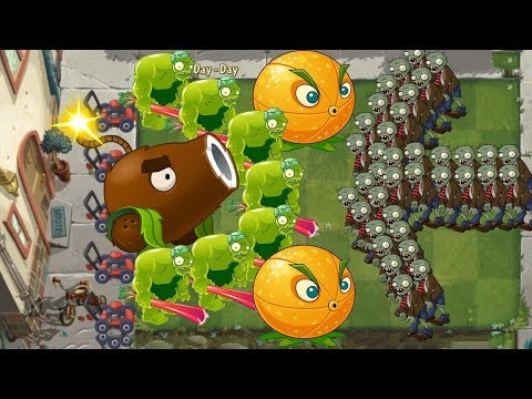 Plants vs Zombies 2 - Coconut Cannon and Zoybean Pod