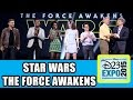 Star Wars: The Force Awakens D23 Expo Panel Highlights - Harrison Ford, Daisy Ridley, Lupita Nyong