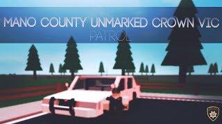 ROBLOX Oficina del Sheriff del Condado de Mano ¡VIC CROWN UNMARKED!