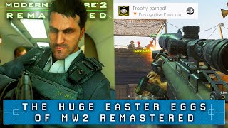 Modern Warfare 2 Remastered: ALL MAJOR SECRET EASTER EGGS