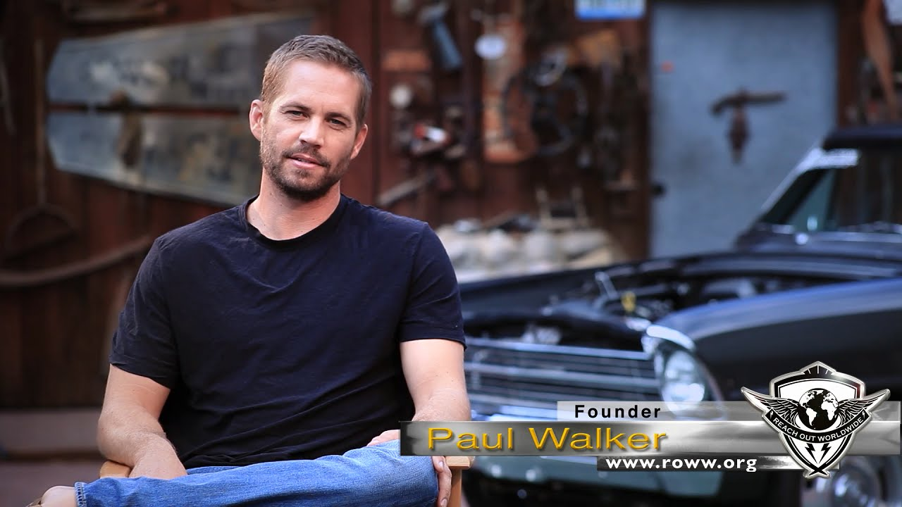 Paul Walker S Reach Out Worldwide Response To Typhoon