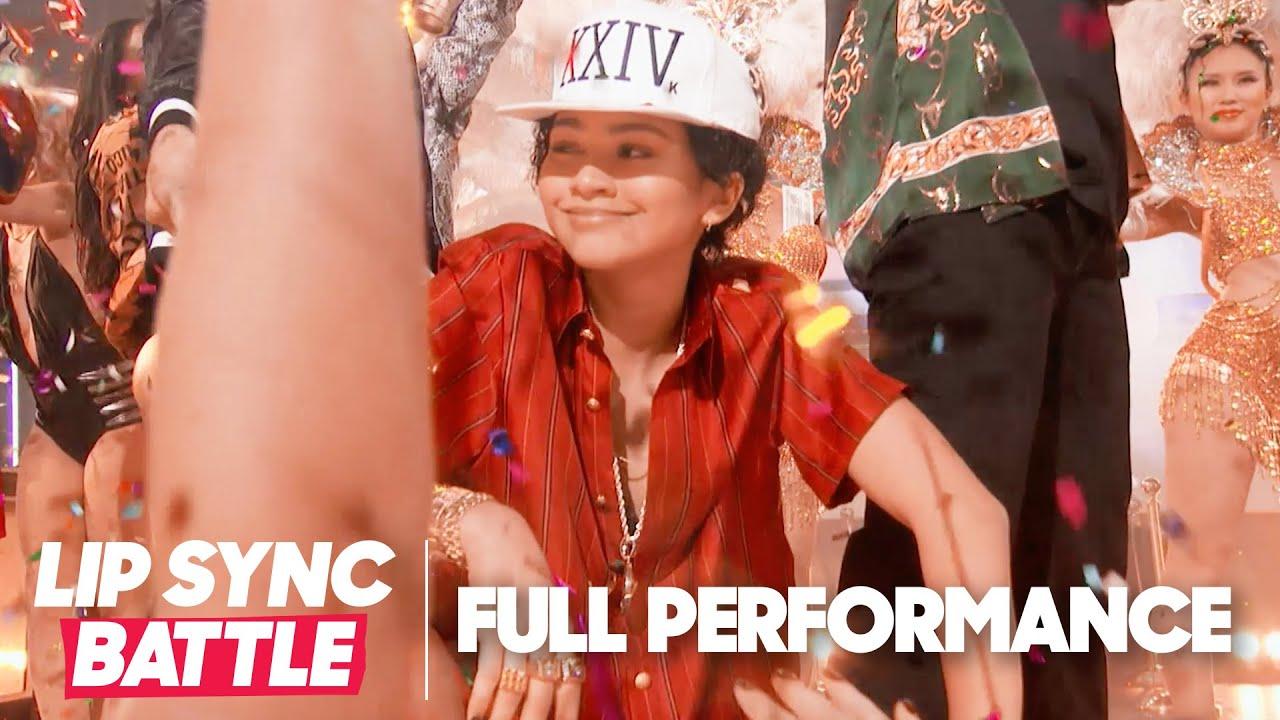 Zendaya Performs 'Tyrone' by Erykah Badu & '24k Magic' by Bruno Mars | Lip Sync Battle