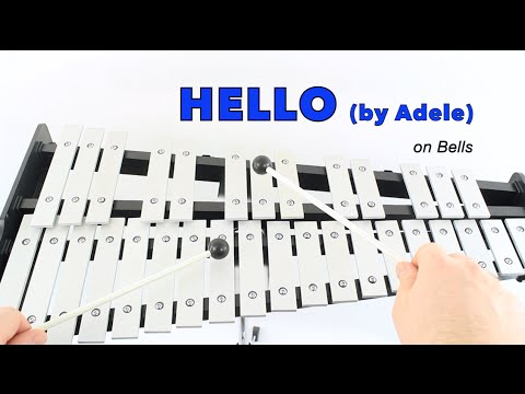 HELLO  Adele for Bells Notes work for FLUTE too