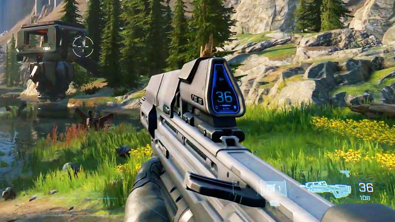 Halo Infinite - Xbox Series X Gameplay - YouTube